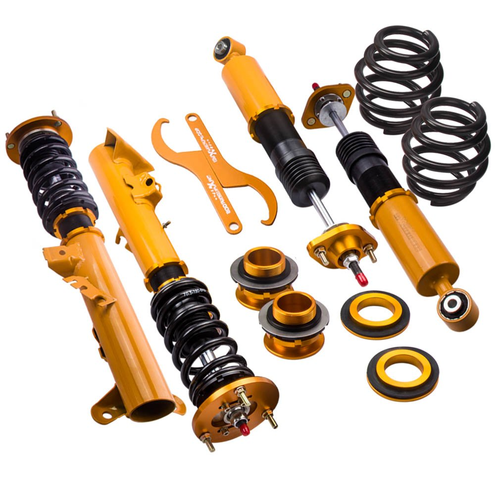 ZYauto Coilovers Shock Suspension for E36 (1992-1999) 318i 318is 318ic 323i 323ic 323is 328i 328is 328ic M3