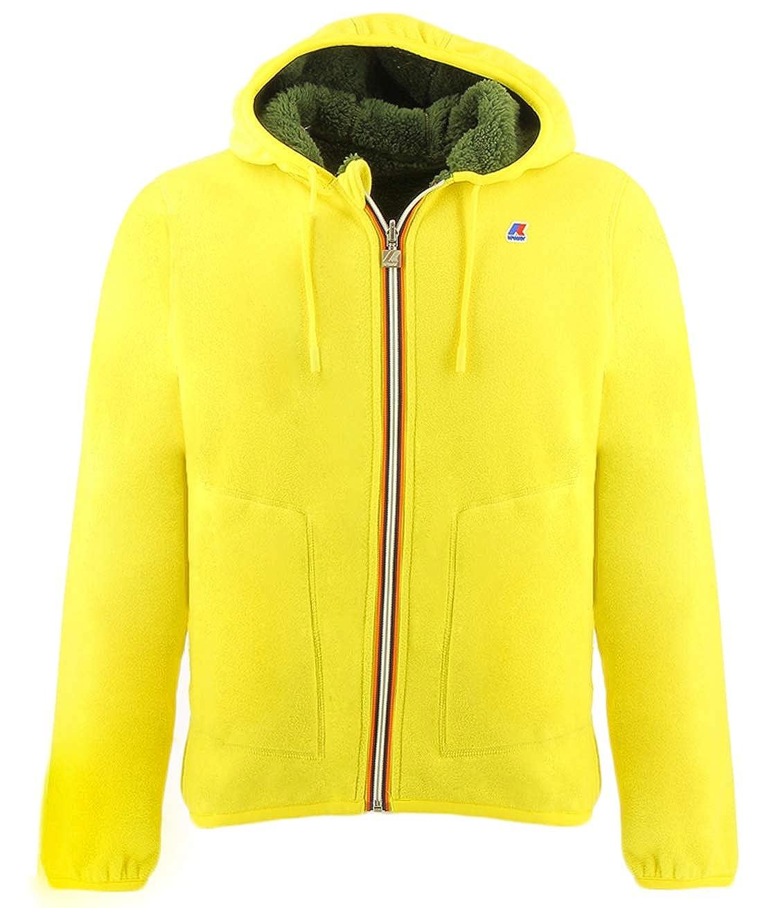 Kway Reversible Yellow Fleece