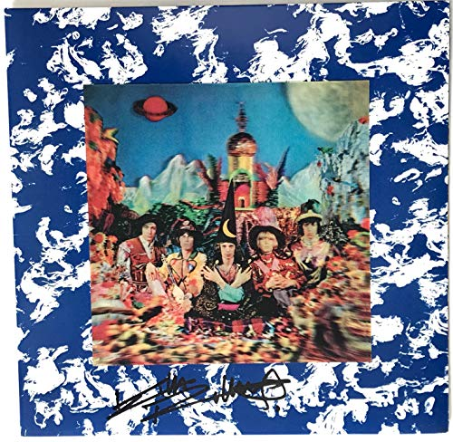 Keith Richards the Rolling Stones signed album their satanic majesties request lp epperson loa