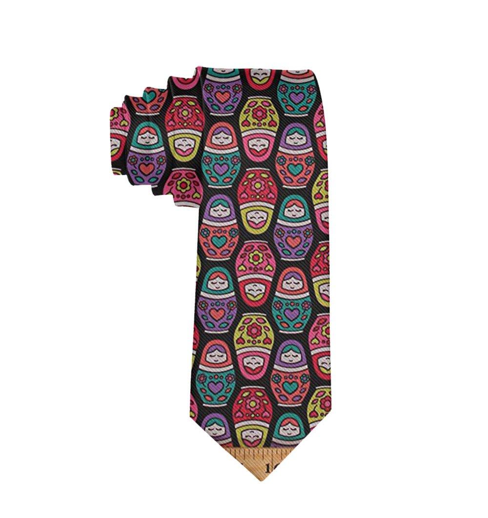 MrDecor - Corbata de Cuello para Hombre, diseño de muñecas Rusas ...