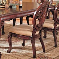 Coaster Home Furnishings Traditional Side Chair,  Dark Cherry
