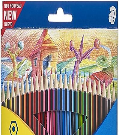 Staedtler Rotuladores para su libro de colorear -24 Pack Staedtler Ergosoft – Lápices para colorear (, famosa y populares marca con colores vibrantes y amplia selección para todas las estaciones: Amazon.es: Oficina