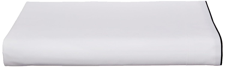 Calvin Klein Home Series 01 Flat Sheet, King, Black