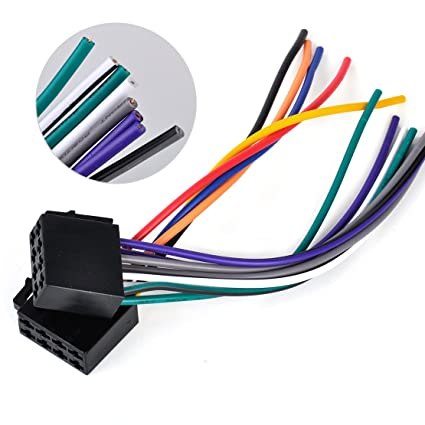 Amazon.com: beler Universal ISO Wire Harness Adapter ... on automotive starter, automotive ecu, cable harness, automotive brakes, wire harness, automotive vacuum pump, automotive gaskets, automotive computer, automotive alternator, automotive electrical, automotive wheels, automotive transmission, automotive coil, automotive headlights, automotive mounting brackets, automotive bumpers, automotive voltage regulator, car harness, automotive switch, automotive hoses,