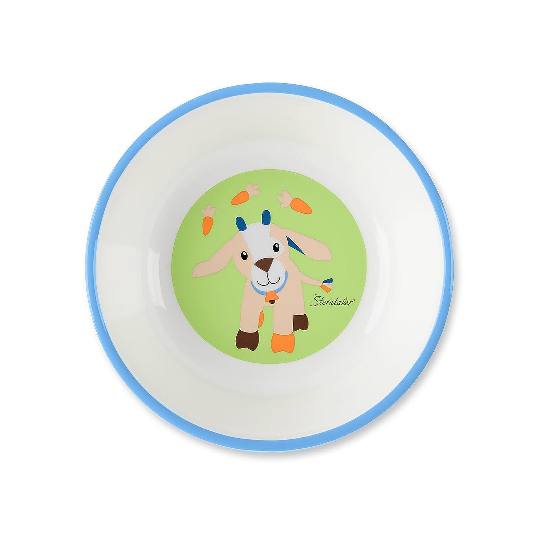 cuill/ère Multicouleur Sterntaler Set de vaisselle Waldis bol /Âge: Pour les b/éb/és /à partir de 6 mois Tasse fourchette Assiette