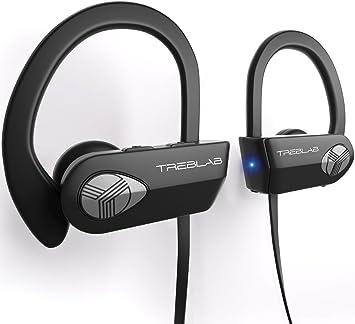 8a52584e566 TREBLAB XR500 Auriculares con Bluetooth. Los Mejores Auriculares  inalámbricos para Hacer Deporte IPX7 Impermeable, y a Prueba de Sudor.