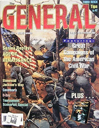 AH: The General Magazine v31 #4 by AH Avalon Hill, the General Magazine: Amazon.es: Juguetes y juegos