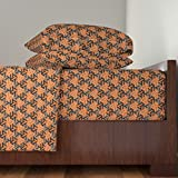 Roostery African 4pc Sheet Set Bogolan by Ormolu King Sheet Set made with
