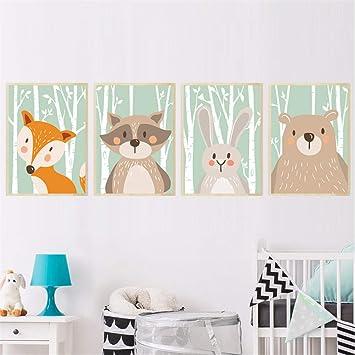 Tableau lapin chambre bébé 6