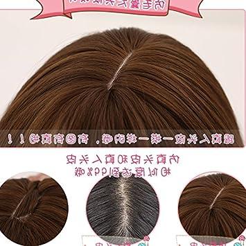 Amazon 2018 Women Girls Female Fashion Long Hair Fluffy Liu Qi