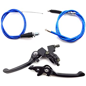 Clutch Cable Brake Lever For Honda CRF50 SSR KLX 110cc 125cc 150cc Pit Dirt Bike,Red