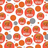 Impeach the Peach Donald Trump Funny Premium Gift Wrap Wrapping Paper Roll