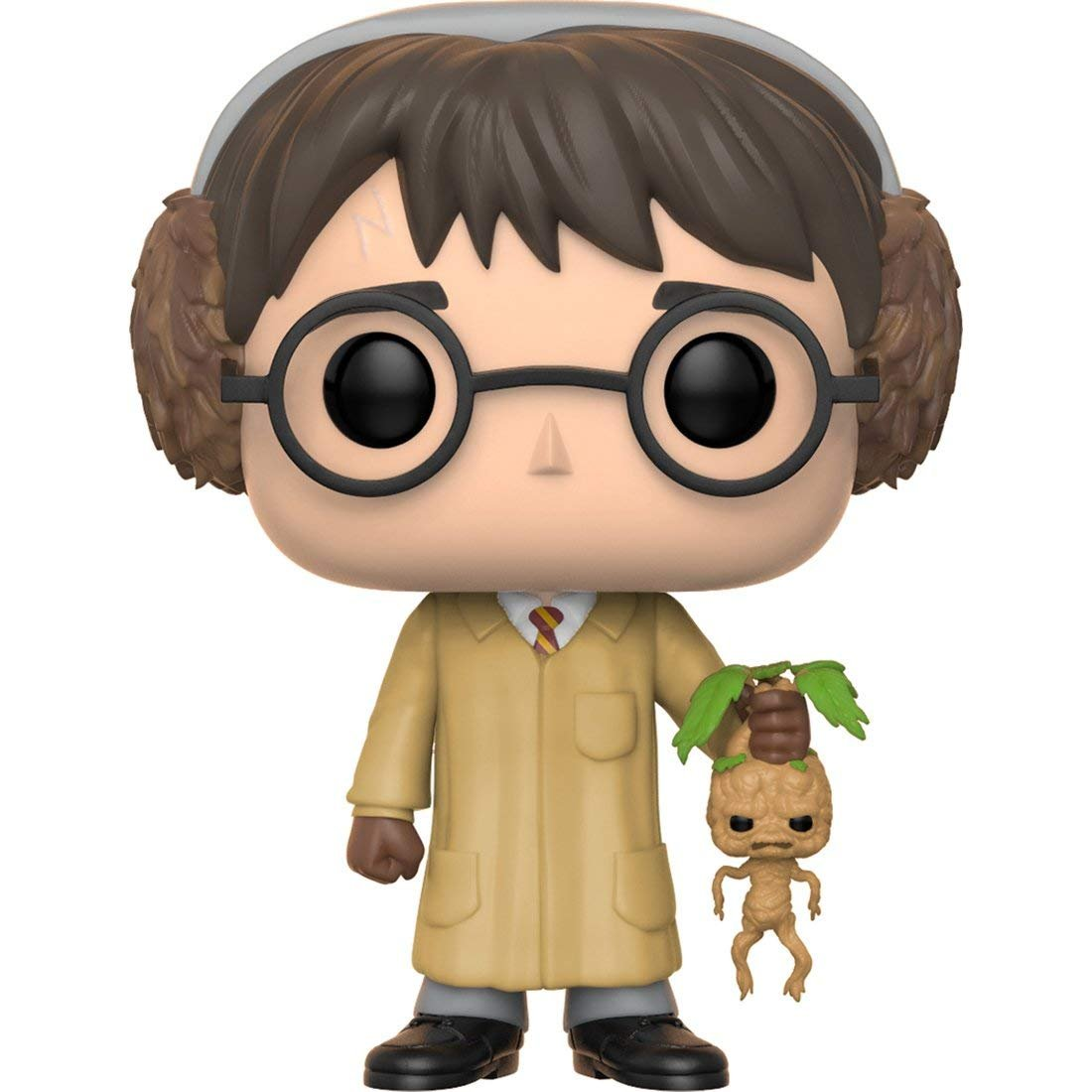 Herbology Movies: Harry Potter Harry Potter Vinyl Figure Bundled with Pop Box Protector Case Funko Pop