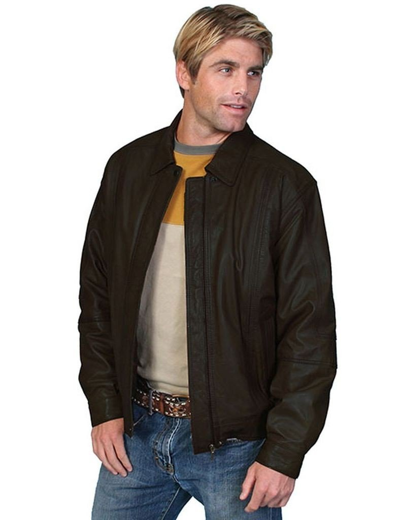 Scully Men's Premium Lambskin Jacket Black Small