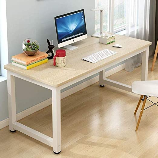 LUXDAMAI Simple Inicio Oficina Grande Mesas para Ordenador,Estudio ...