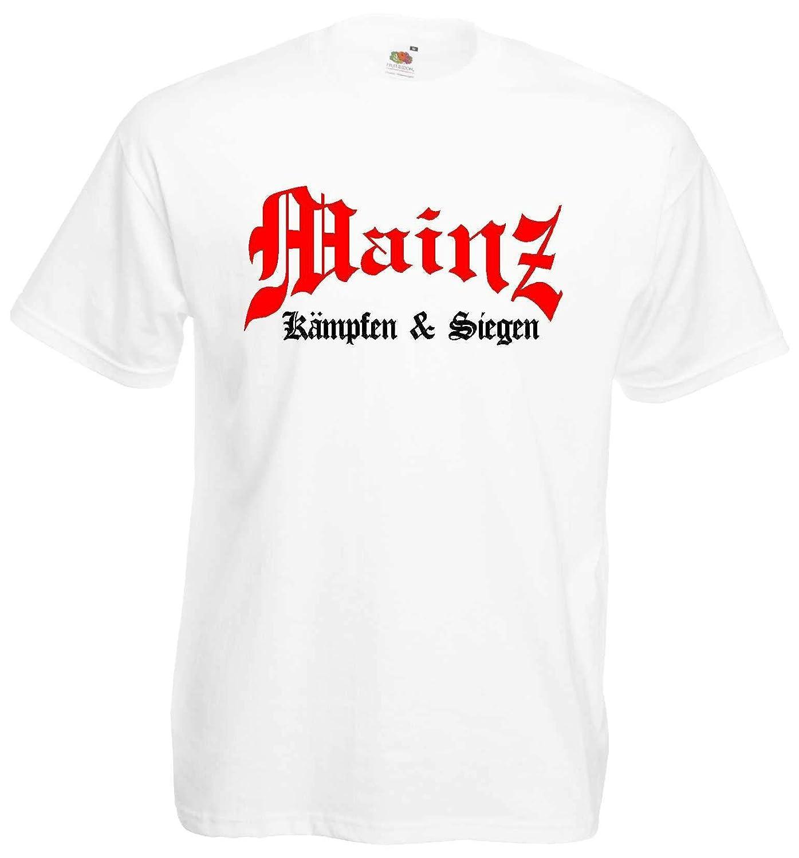 Mainz Herren T-Shirt K/ämpfen /& Siegen Ultras