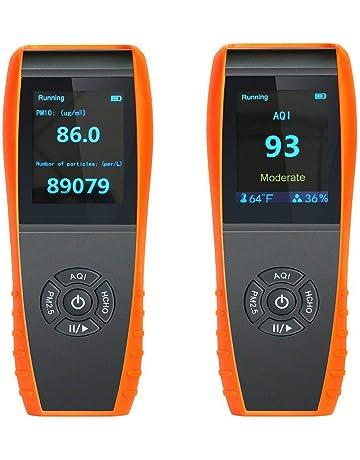 lkc-1000s detector de calidad del aire interior Monitor de temperatura y humedad profesional precisa