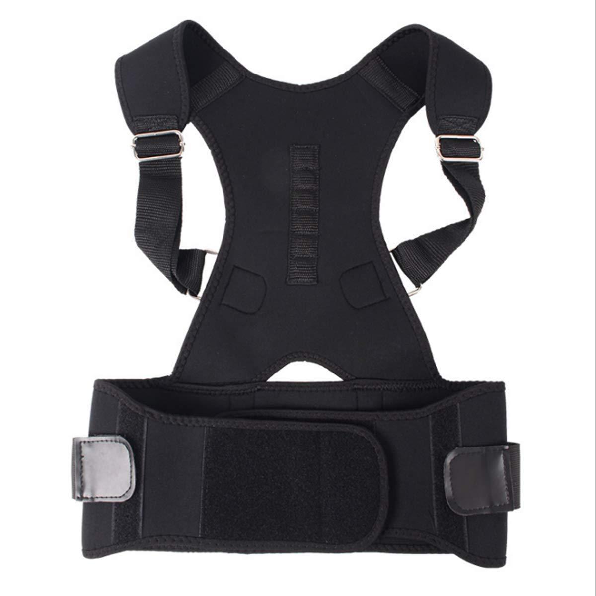 Sviuse Back Posture Corrector for Men and Women - Adjustable Shoulder Brace Support Posture (XXL)