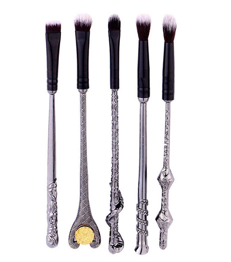Hillento Beauty Makeup Brushes, Harry Potter Makeup Brushes, 5PCS Foundation Blending Blush Eyeshadow Face Powder Brush Makeup Soft Fan Brush Foundation Brushes Make Up Tool Ds Online