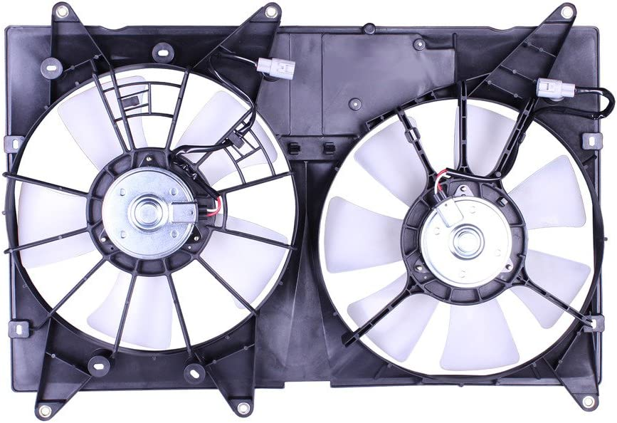 Tong Yang FAN-TY66029A Replacement Radiator/Condenser Cooling Fan Assembly 01'-07' TY Lexs RX300/HIGHLANDER 01-07 (FAN-TY66029A)