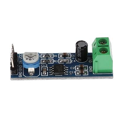 MagiDeal Módulo Lm386 200 Veces Ganancia Amplificador De Audio Módulo para Frambuesa Pi Arduino