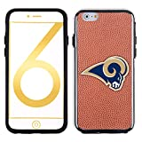 NFL St. Louis Rams Classic Football Pebble Grain Feel No Wordmark iPhone 6 Case, Brown