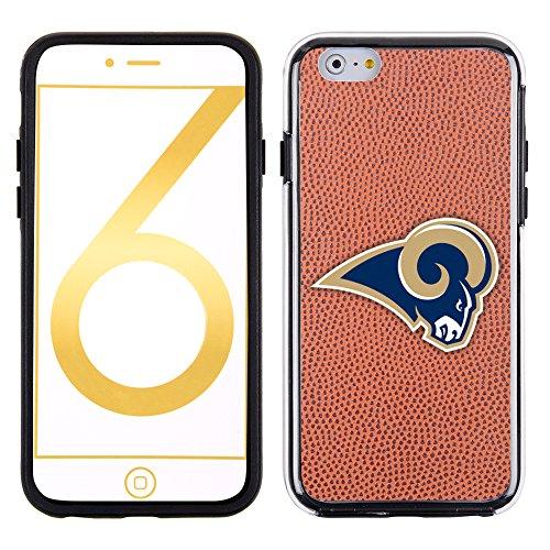 NFL St. Louis Rams Classic Football Pebble Grain Feel No Wordmark iPhone 6 Case, Brown by GameWear