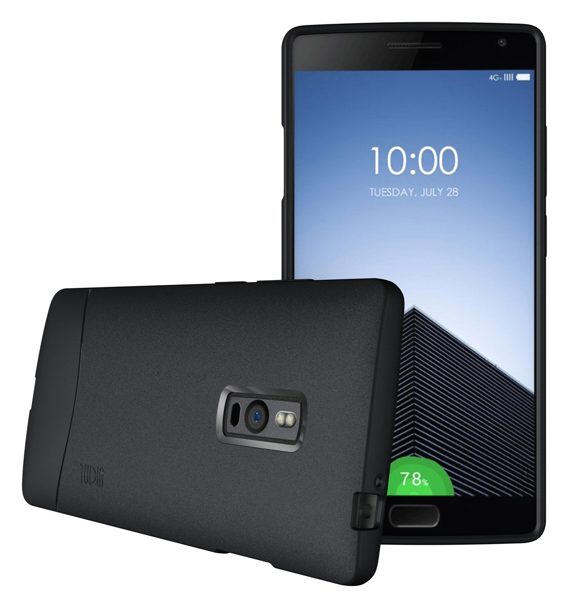 newest 39621 4c81a OnePlus 2 Case - TUDIA Full-Matte Arch TPU Bumper Protective Case for  OnePlus Two (Black)