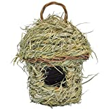 Cheap Gardirect Natural Bird House, Bamboo Leaf Natural Roosting Pocket