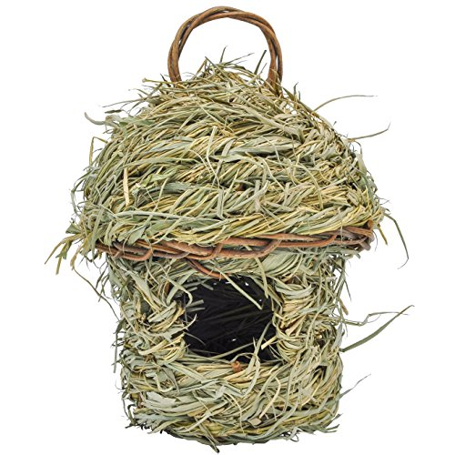 Gardirect Natural Bird House, Bamboo Leaf Natural Roosting (Bird Nesting Pockets)
