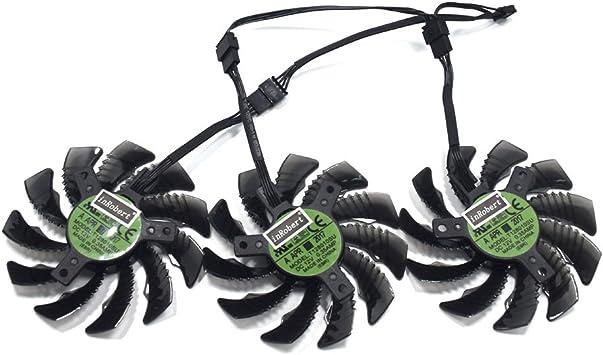 Amazon.com: inrobert 78 mm. t128010su 0,35 A ventilador de ...