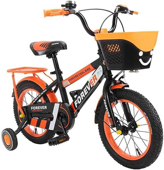 DT Bicicleta para niños 2-3-4-6-7-8-9-10 años Bebé 12/14 Pulgadas ...