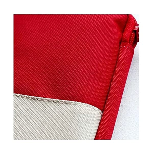 Mini bolsa médica Kit de primeros auxilios Bolsa de embalaje de drogas Viaje al aire libre Portable Red 6