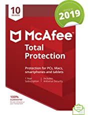 McAfee 2019 Total Protection|10 Devices|PC/Mac/Android/Smartphones|Activation code  by post