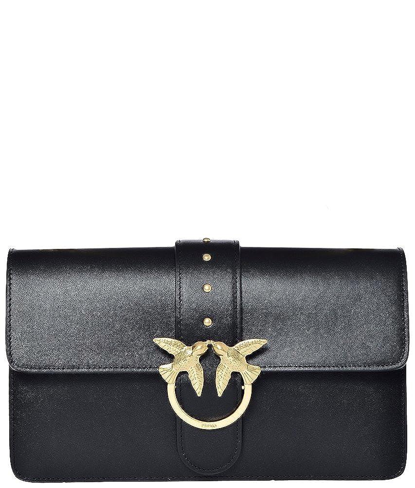 best sneakers 2c6e8 39be9 Pinko Women's Top-Handle Bag Black One Size: Amazon.co.uk ...