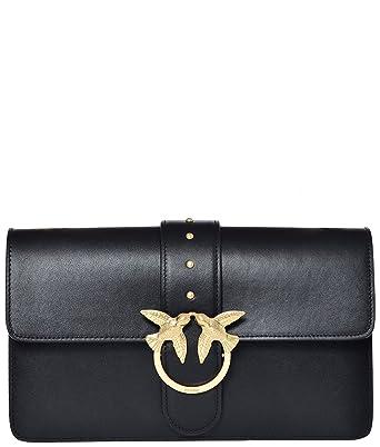 079e9d23279c6 Pinko Women s Top-Handle Bag Black One Size  Amazon.co.uk  Shoes   Bags