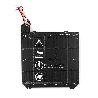 FYSETC Impresora 3D Piezas, MK3 MK52 Cama magnética climatizada y ...