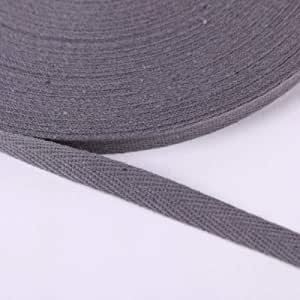 Cinta de 20 mm de ancho de color puro, 100% algodón, 2 cm, correa ...