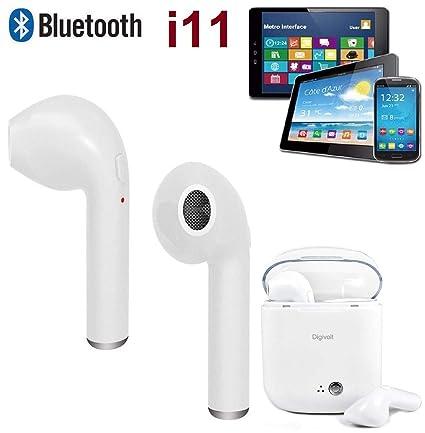 Auriculares Inalambricos Bluetooth i11 TWS 4.2 + Caja de Carga