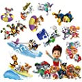 Paw Patrol Sticker Set 12 Characters Pieces Decal Movie Wall Sticker Home Decor Art Sticker Room Decor