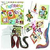 Paper Quilling DIY Craft Card Making Kit Arts & Craft Stocking Filler Birthday Christmas Ideas