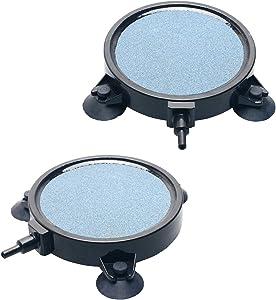 Pawfly 4 Inch Air Stone Disc Bubbler for Aquarium Hydroponics Fish Tank Air Pump