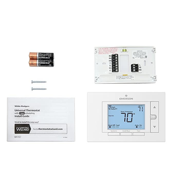 61xyEk6TCuL._SX681_ emerson up310 premium 7 day programmable thermostat amazon com wiring diagram emerson digital thermostat at reclaimingppi.co
