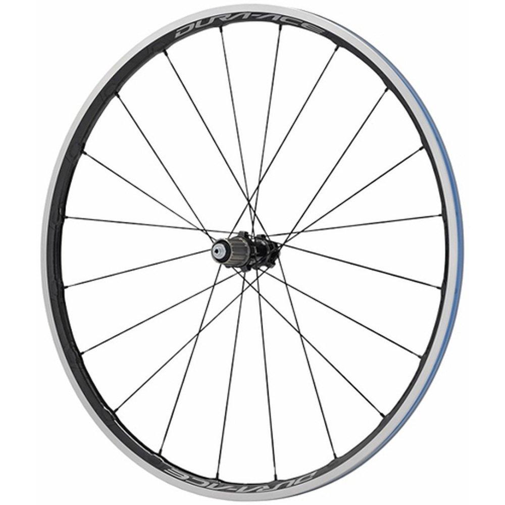 Shimano Cycling Wheel, WH-R9100-C24-Cl Rear 20H, Carbon Laminate Rim(W/Rim Tape) Clincher, Old:130mm, Qr:168mm, W/O Wheel Bag, Single 130 Qr, W/O Wheel Bag - EWHR9100C24REY