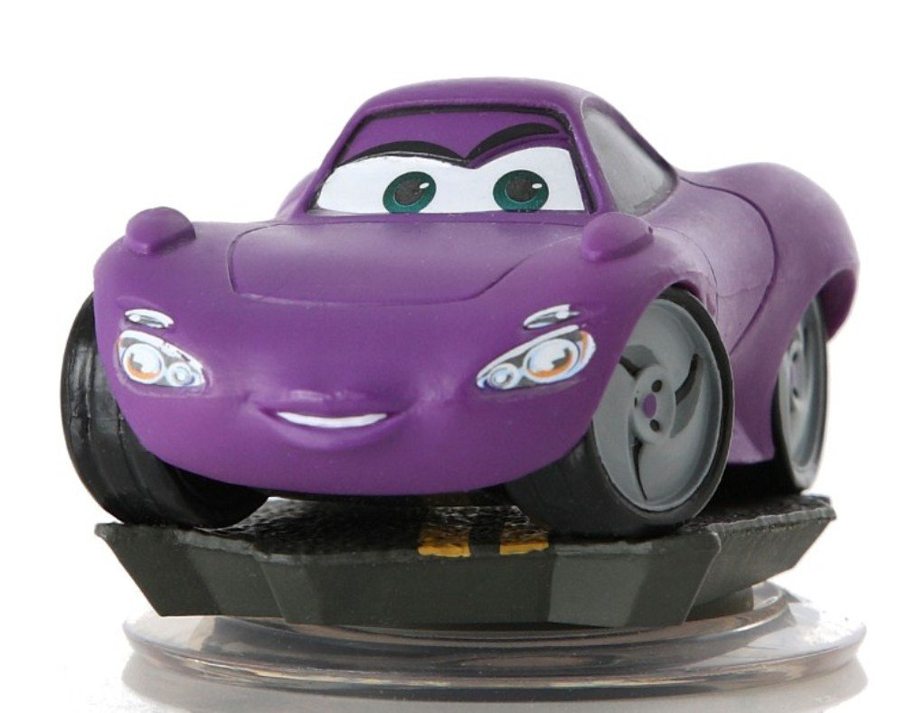 NEW HOLLEY SHIFTWELL Disney Infinity loose figure from Cars Playset PURPLE HOLLY