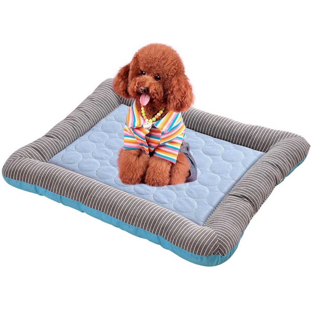 KOBWA Colchón para Mascotas, Alfombrilla de Refrigeración para Perros y Gatos: Amazon.es: Productos para mascotas