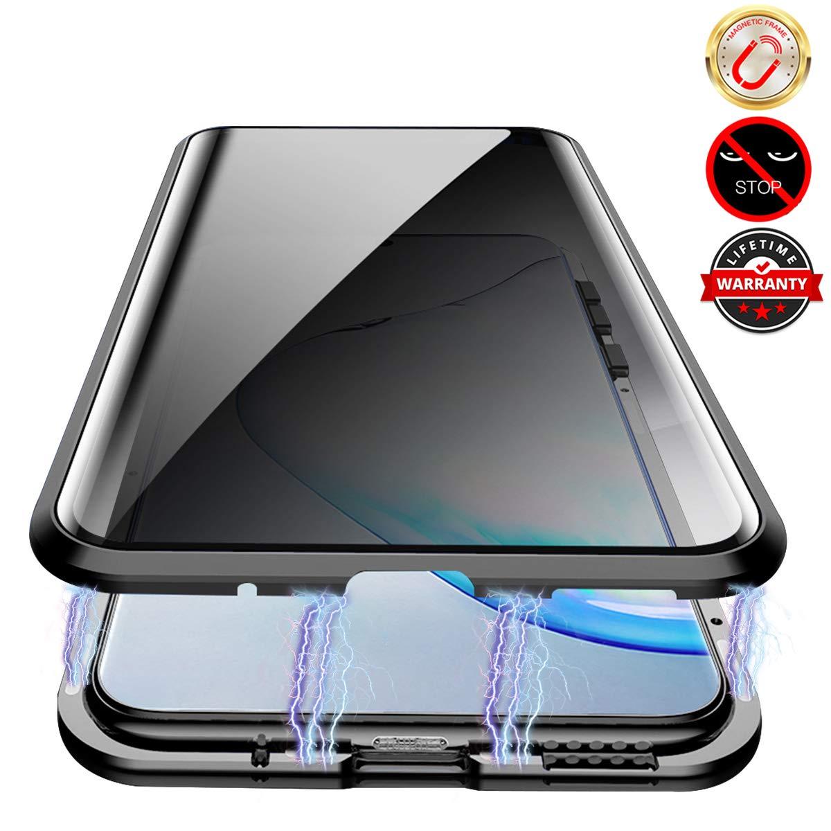 Funda Magnetica Para Samsung Note 10 Vidrio Privacidad