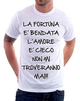 Camiseta Frases Humor La Fortuna Es Bendata L Amor Es