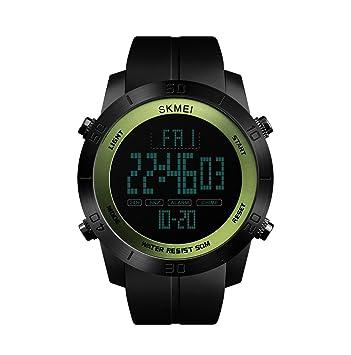 ML Reloj Digital Deportivo Masculino, Masculino y Femenino, Reloj de los niños cronógrafo Luminoso