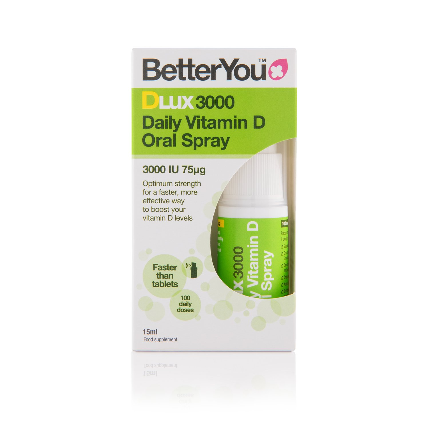 Better You Dlux Vitamin D Oral Spray 15ml product image